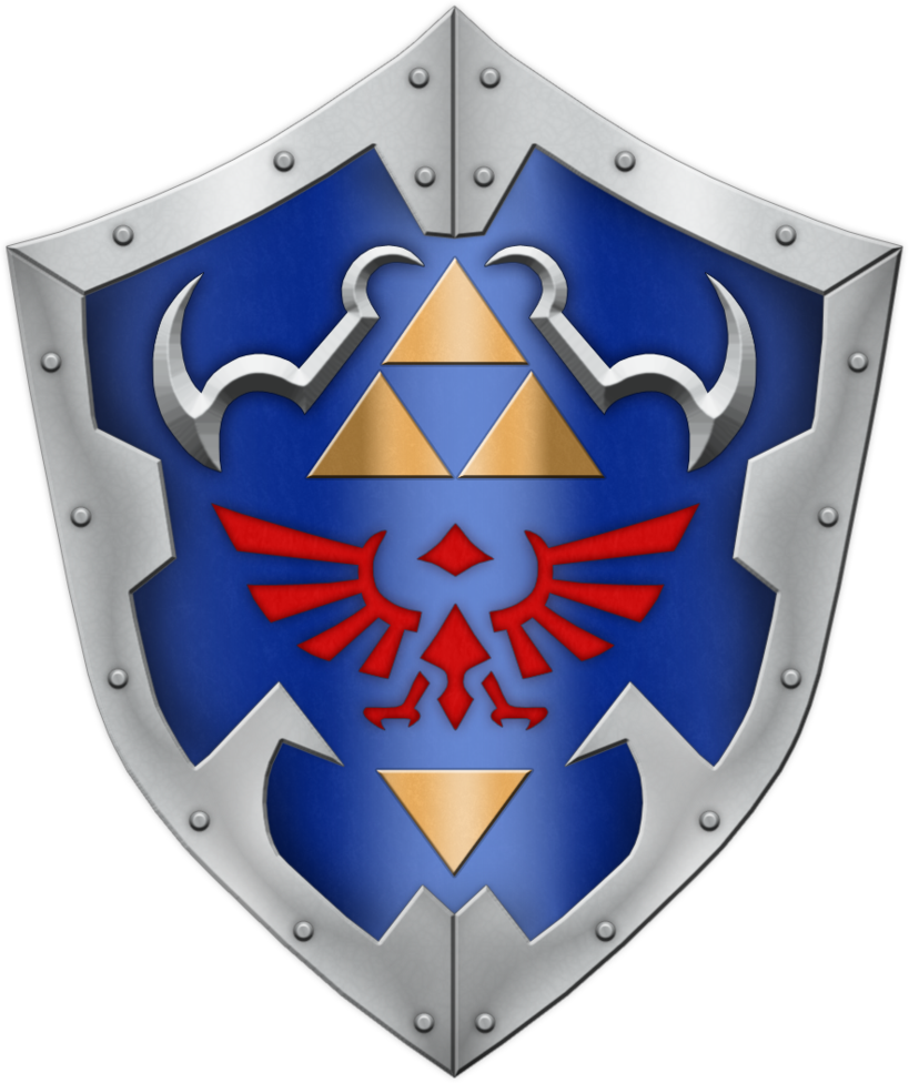 Oot Hylian Shield By Blueamnesiac Who Has Just Become My Favorite