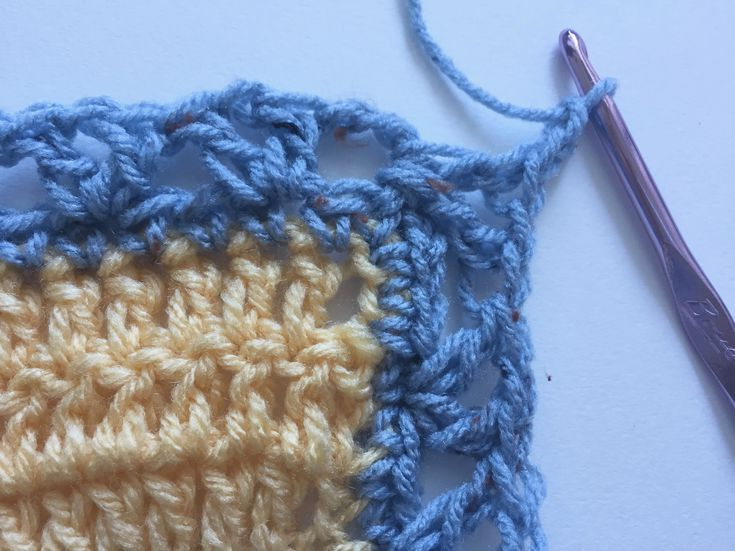 Beautiful Free Crochet Pattern Using V Stitch And Picot Edging