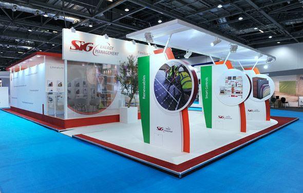 Exhibition Stand At Ecobuild Architecture Exhibits