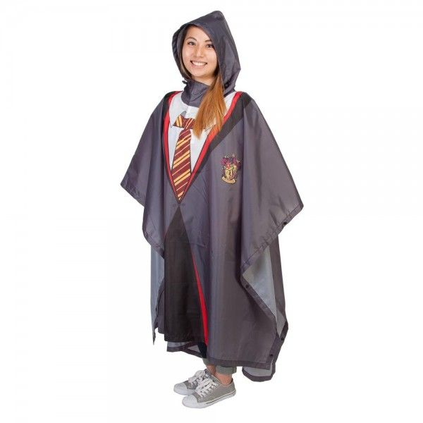Harry Potter Gryffindor Robe Rain Poncho