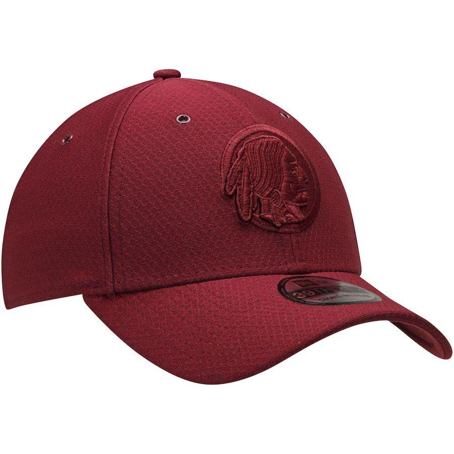 Men s Washington Redskins New Era Burgundy Historic Logo Kickoff Reverse 39THIRTY  Flex Hat 7024d91a1