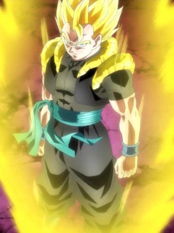 Xeno Gogeta Dragon Ball Wiki Fandom Powered By Wikia Dragon Ball Art Goku Anime Dragon Ball Super Dragon Ball