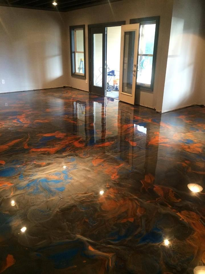 Concrete Epoxy Floor Install Near Chehalis Wa