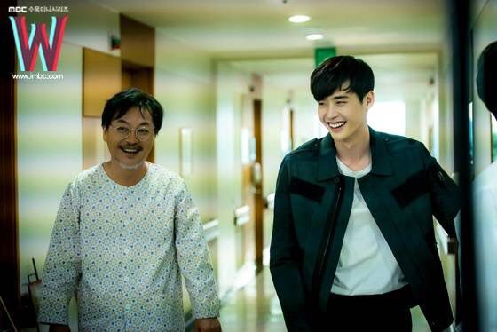 Lee jong suk w two worlds episode 13 behind the scenes | A_