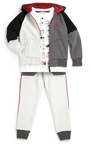 Little Marc Jacobs Toddler's & Little Boy's Colorblock Hoodie on shopstyle.com