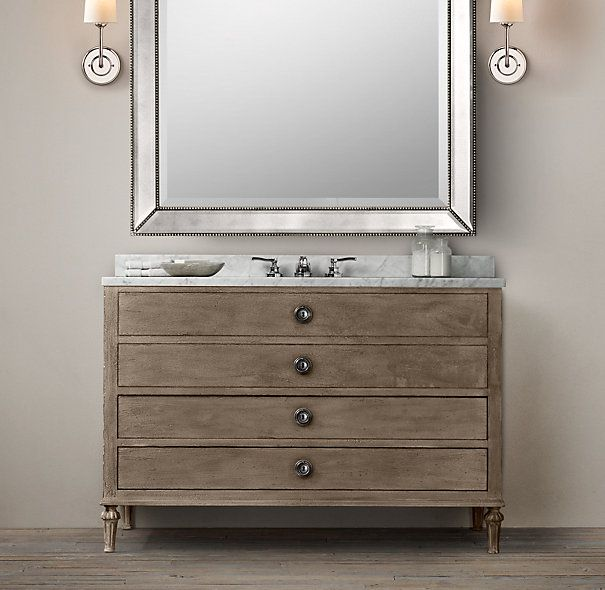 Maison extra wide single vanity sink have to check for Master bathroom vanity single sink
