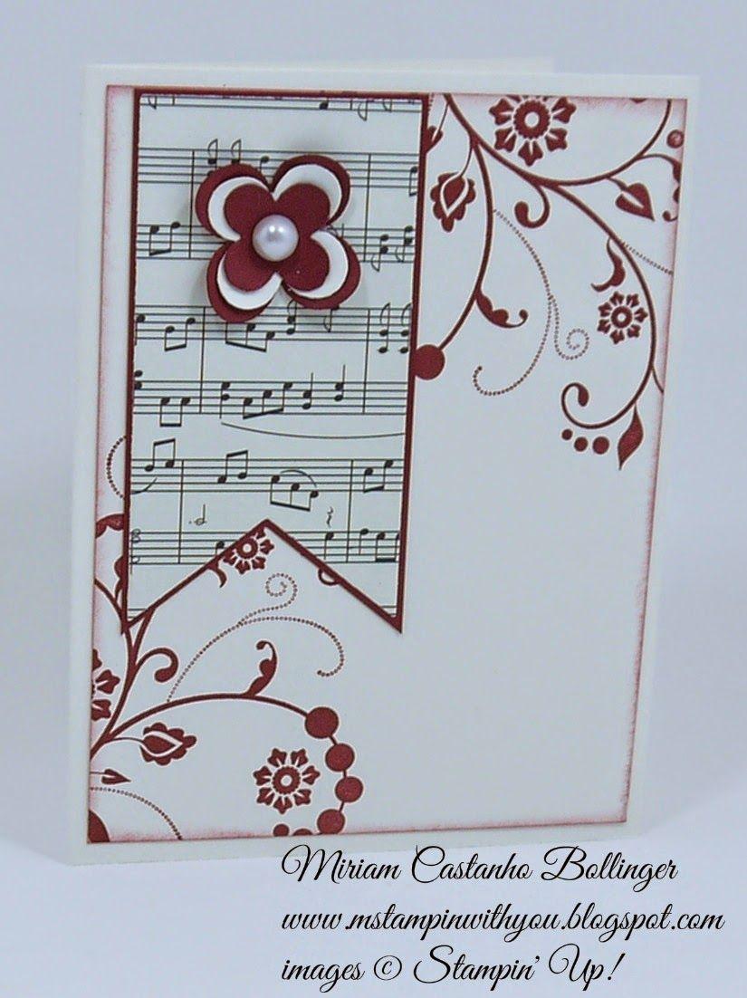 Кошечками цветами, открытки скрапбукинг ноты