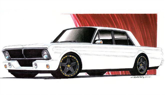 1965 Ford Falcon Futura Project Garage Roddin At Random Hot Rod Magazine Ford Falcon Ford Custom Cars