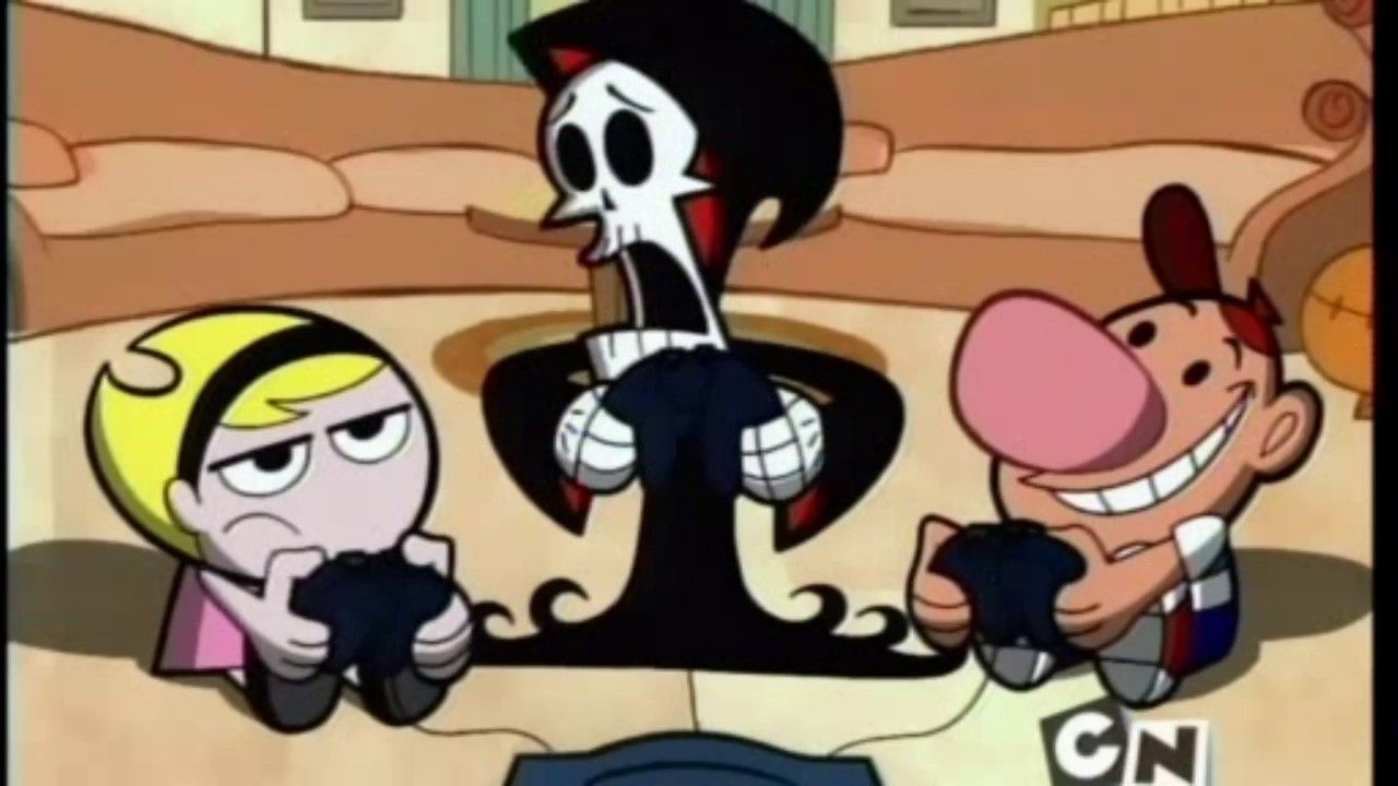 The Grim Adventures Of Billy And Mandy S1e02a Opposite Day