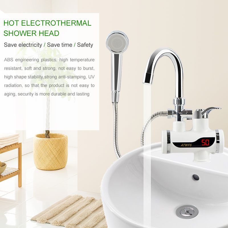 Instant Electric Heating Water Faucet Shower Shower Faucet Water Faucet Electric Heating