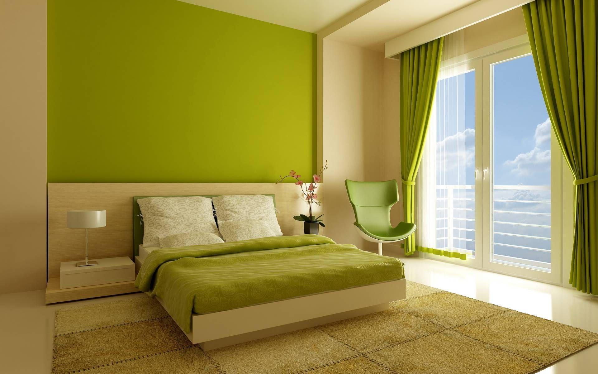 Green Sofa Green Furniture Green Decor Living Room Decor Room Makeover Modern Decor Contem Bedroom Color Combination Green Bedroom Colors Bedroom Colors New bedroom green color