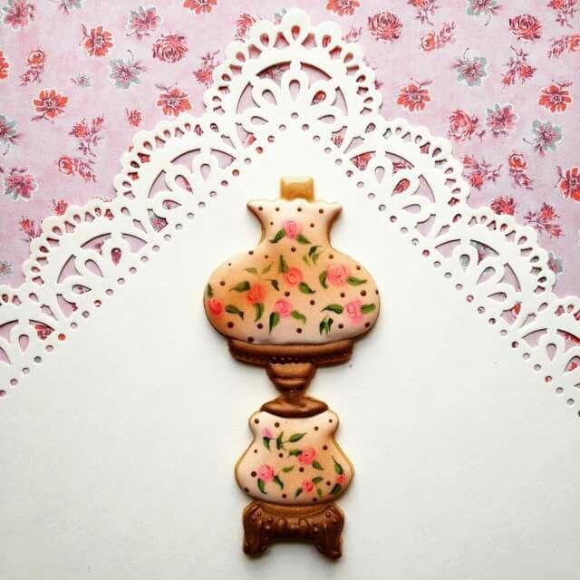 Tarsha Joyner:  Antique Victorian Lamp