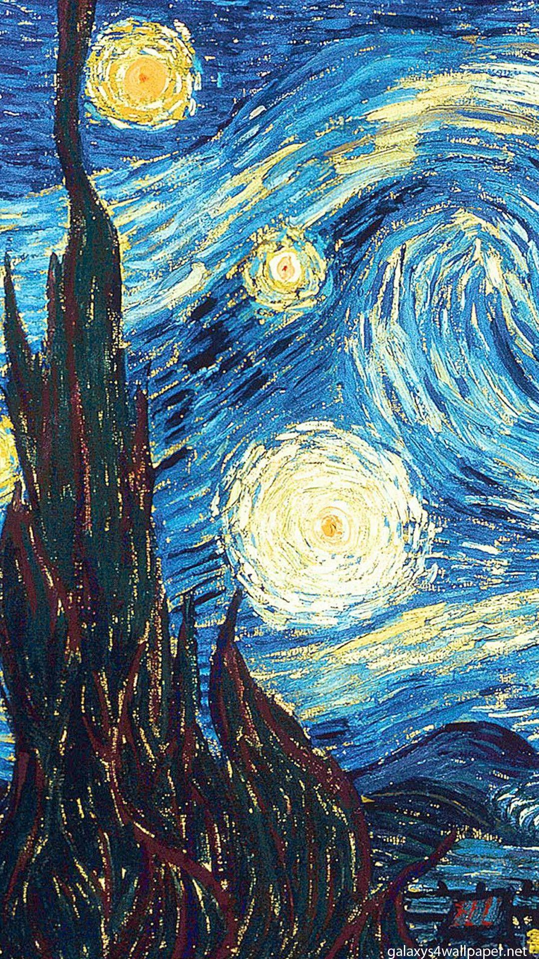 TAP AND GET THE FREE APP! Art The Starry Night Vincent Van