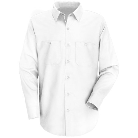 Red Kap Men S Long Sleeve Wrinkle Resistant Cotton Work Shirt Work Shirts Shirts Cotton
