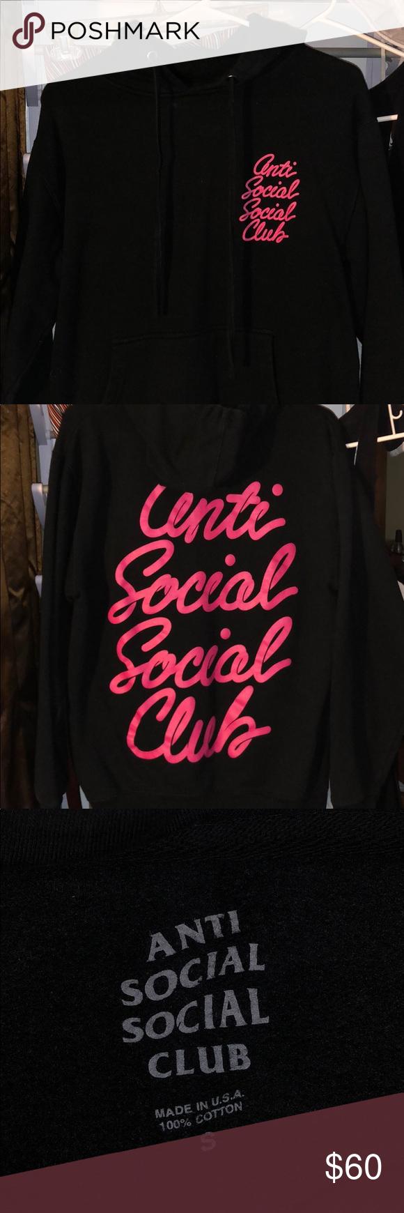 Anti Social Social Club Hoodie Anti Social Social Club Hoodie Anti Social Social Club Club Tops