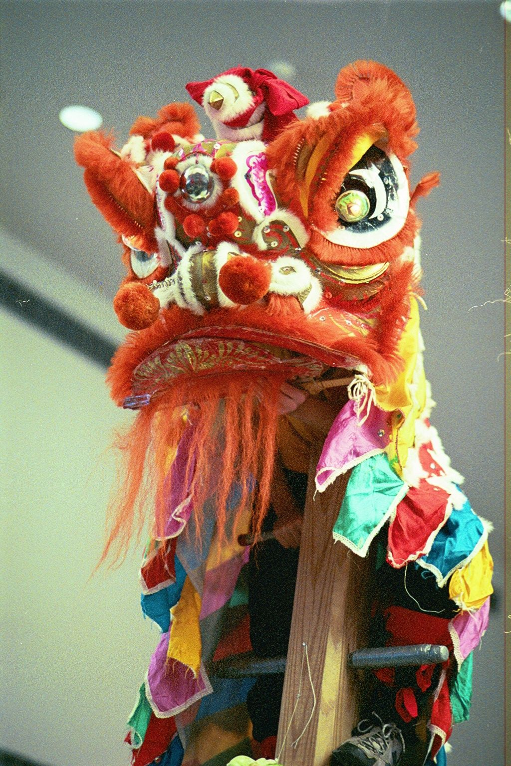 How To Make A Chinese Lion Mask In