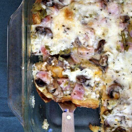 Overnight Ham and Cheese Bake - Recipe Girl