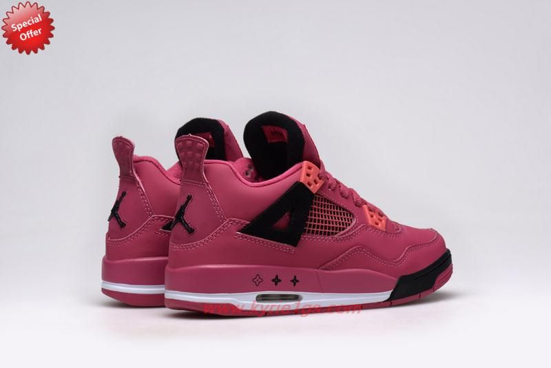 f301ef5736ceb1 Red Black Valentines Day AIR JORDAN 4 RETRO Womens For Sale Cheap MZN4W7