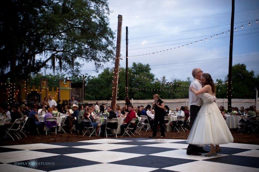 Tampa Bay Area Renaissance Festival Wedding Reception