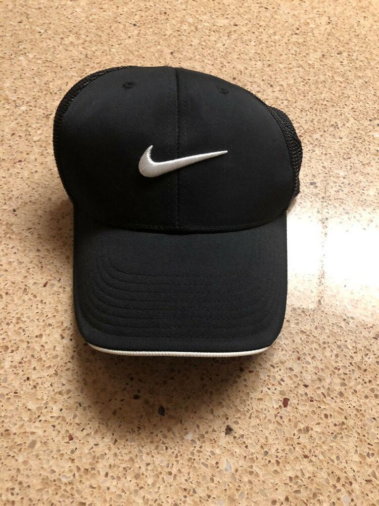 1065362795417 Nike Golf VR Black Dri Fit Featherlight Hat Sz OSFA  fashion  clothing   shoes