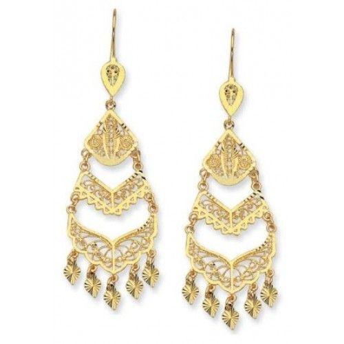 Chandelier Gold Earrings TopEarrings – Gold Chandelier Earrings