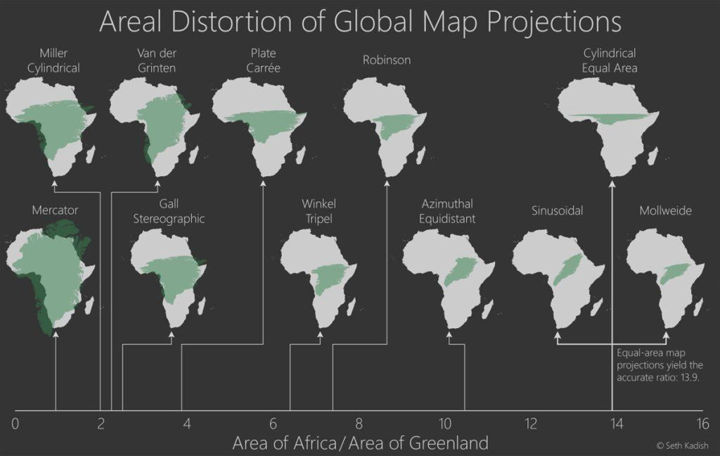 32 Maps That Will Teach You Something New About the World LEARNING - new world map of africa