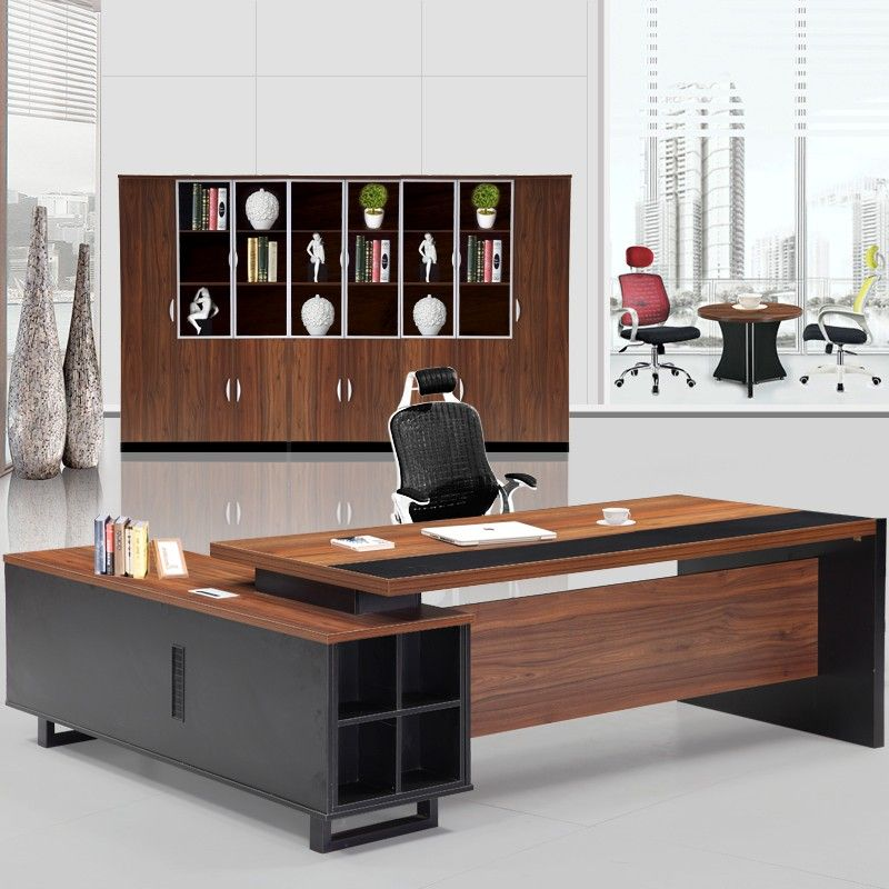 Professional Luxury General Manager Office Furniture High Quality Mdf Office