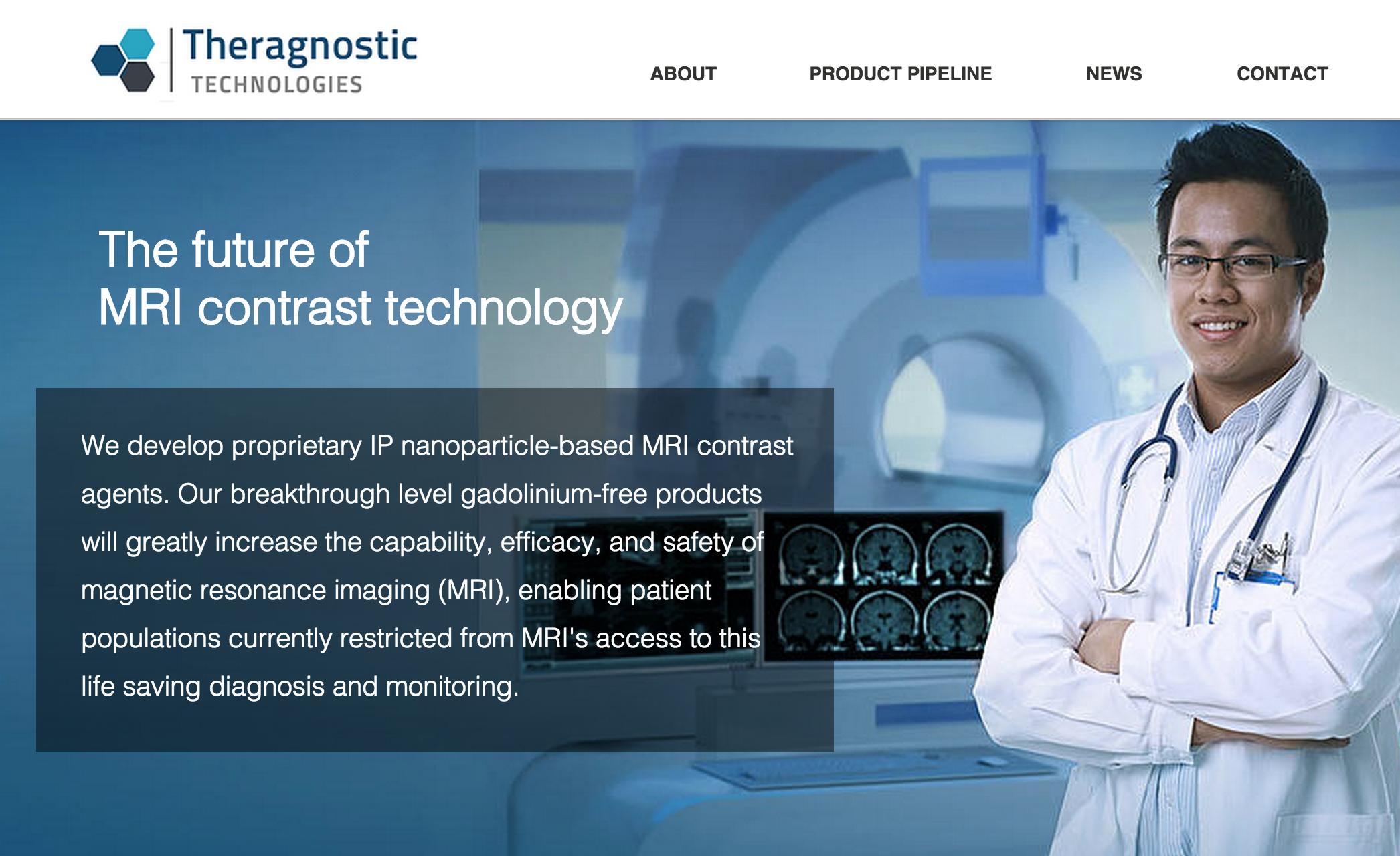 Theragnostic Technology develops proprietary IP