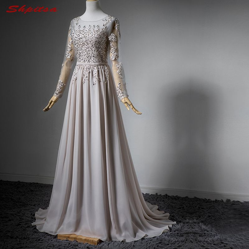 Simple Wedding Dress For Godmother: Long Sleeve Lace Mother Of The Bride Dresses For Weddings