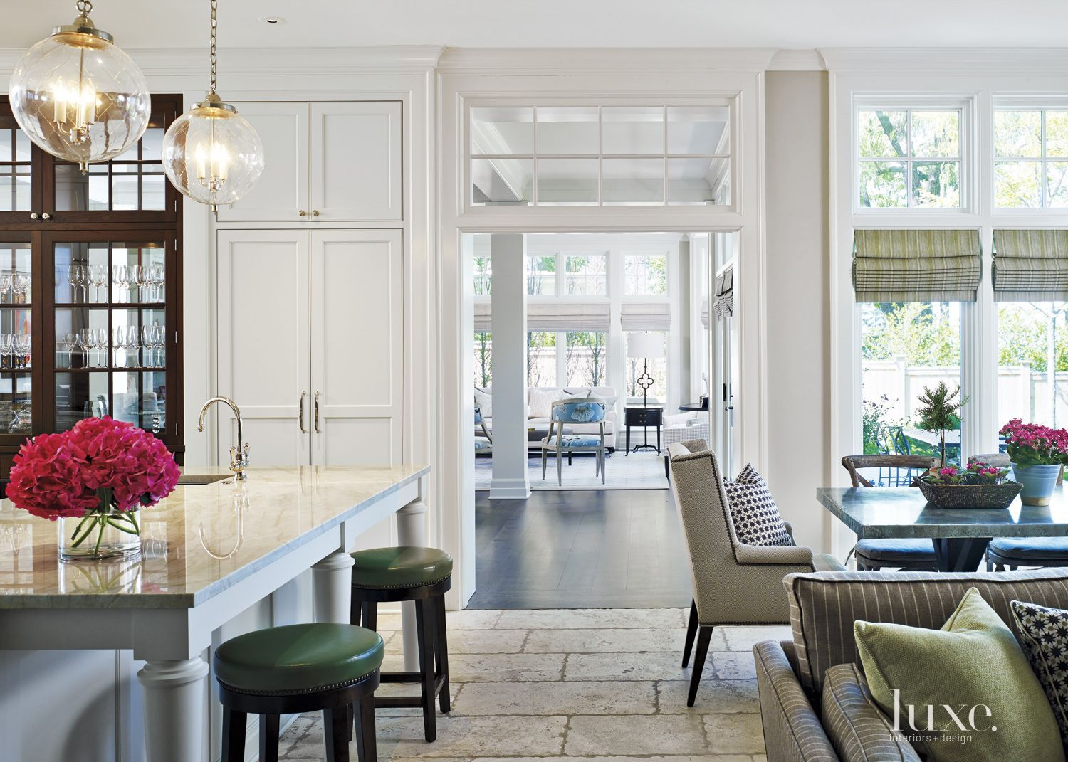 Traditional Brick 1900s Renovated Row House | LuxeSource | Luxe ...