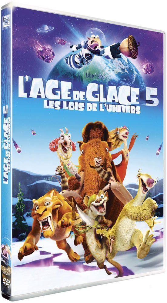 Dvd L Age De Glace 5 Les Lois De L Univers Dvd Pas Cher Amazon Ventes Pas Cher Com L Age De Glace Glaciation Age De Glace 5