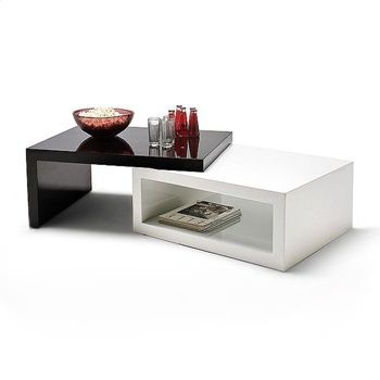 White Coffee Table With L Shaped Extension Coffee Table Black Coffee Tables Modern Coffee Tables