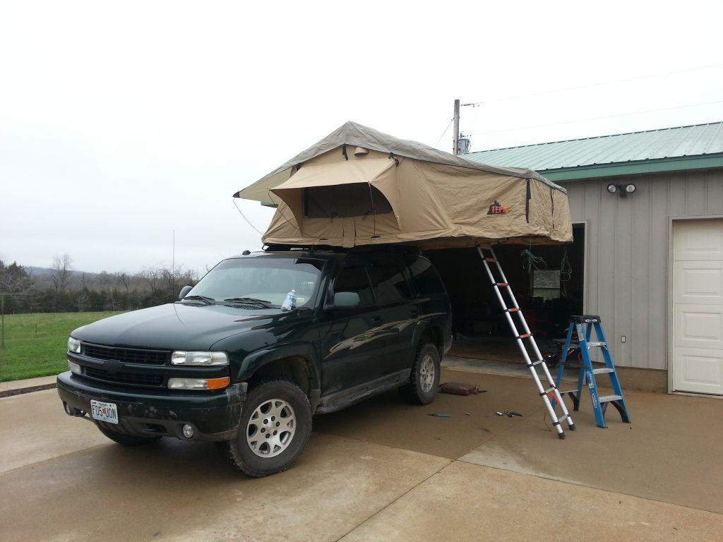 Roof Top Tent Z71tahoe Suburban Com Tahoe Mod Ideas