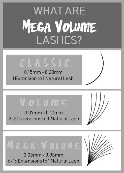 What are Mega Volume Lashes?