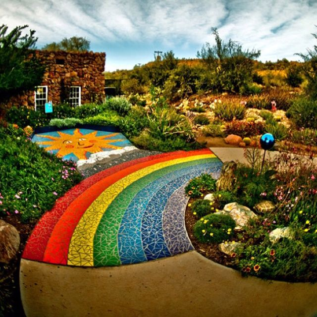 Backyard Garden Ideas For Kids Photograph: Somewhere Over The Rainbow, Or Wait!!! What About In Your