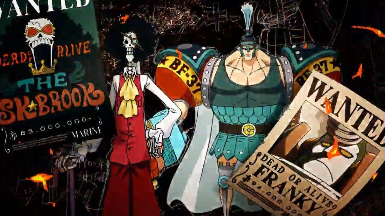 One piece Stampede : Brook & Franky | One Piece