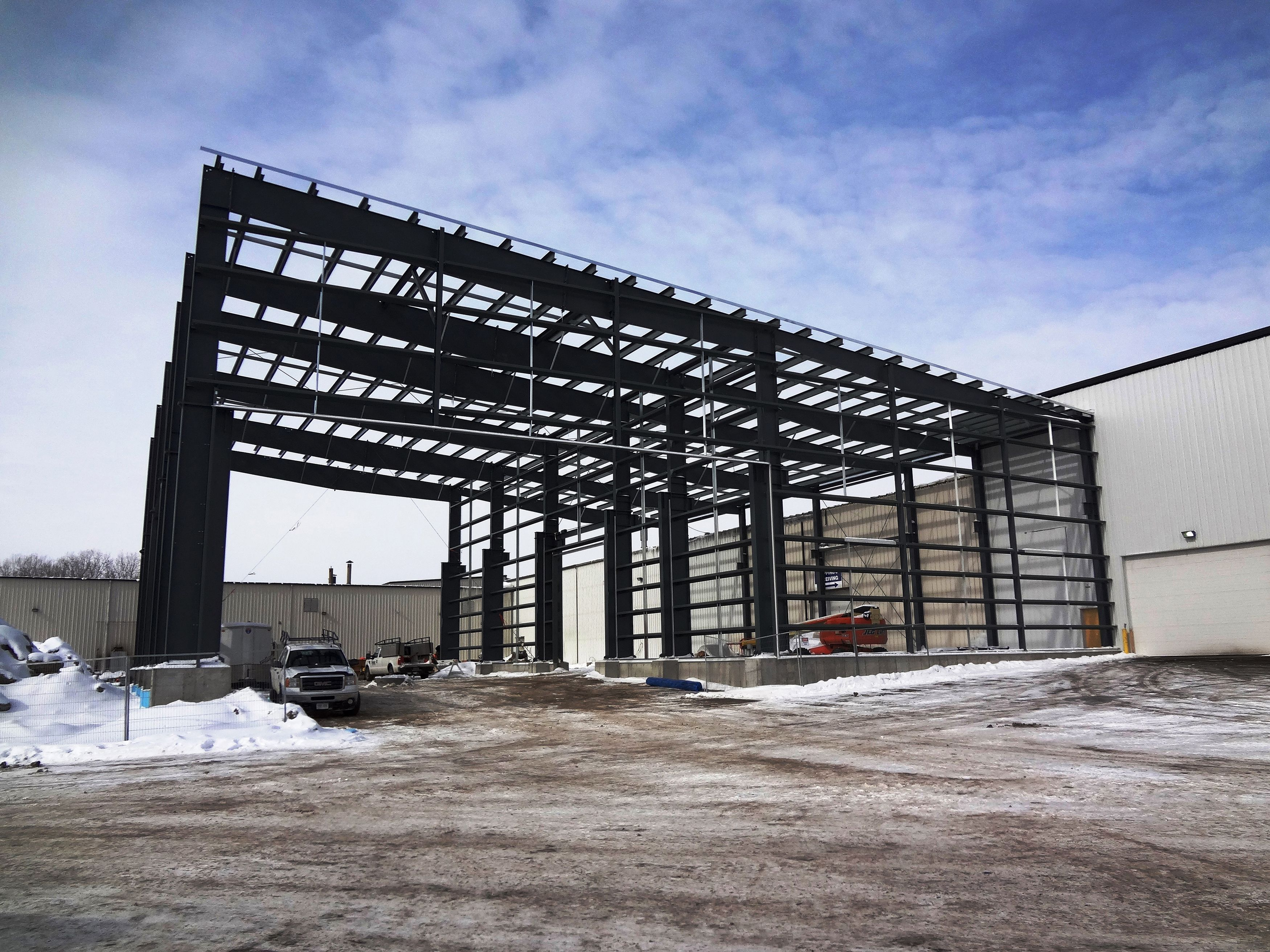 Steelway Building Systems Patriot Forge Project Brantford On