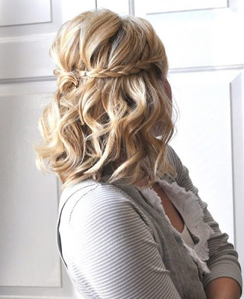 medium-length hairstyle for mecoming | Hairstyle | Pinterest ...