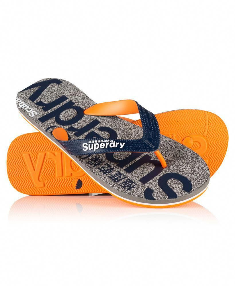 564fc584036f2d Superdry men s Scuba marl flip flops. Colour  Grey Fleck Mrl. Size Guide  Mens. This is a genuine Superdry item for sale. This does not affect your  statutory ...