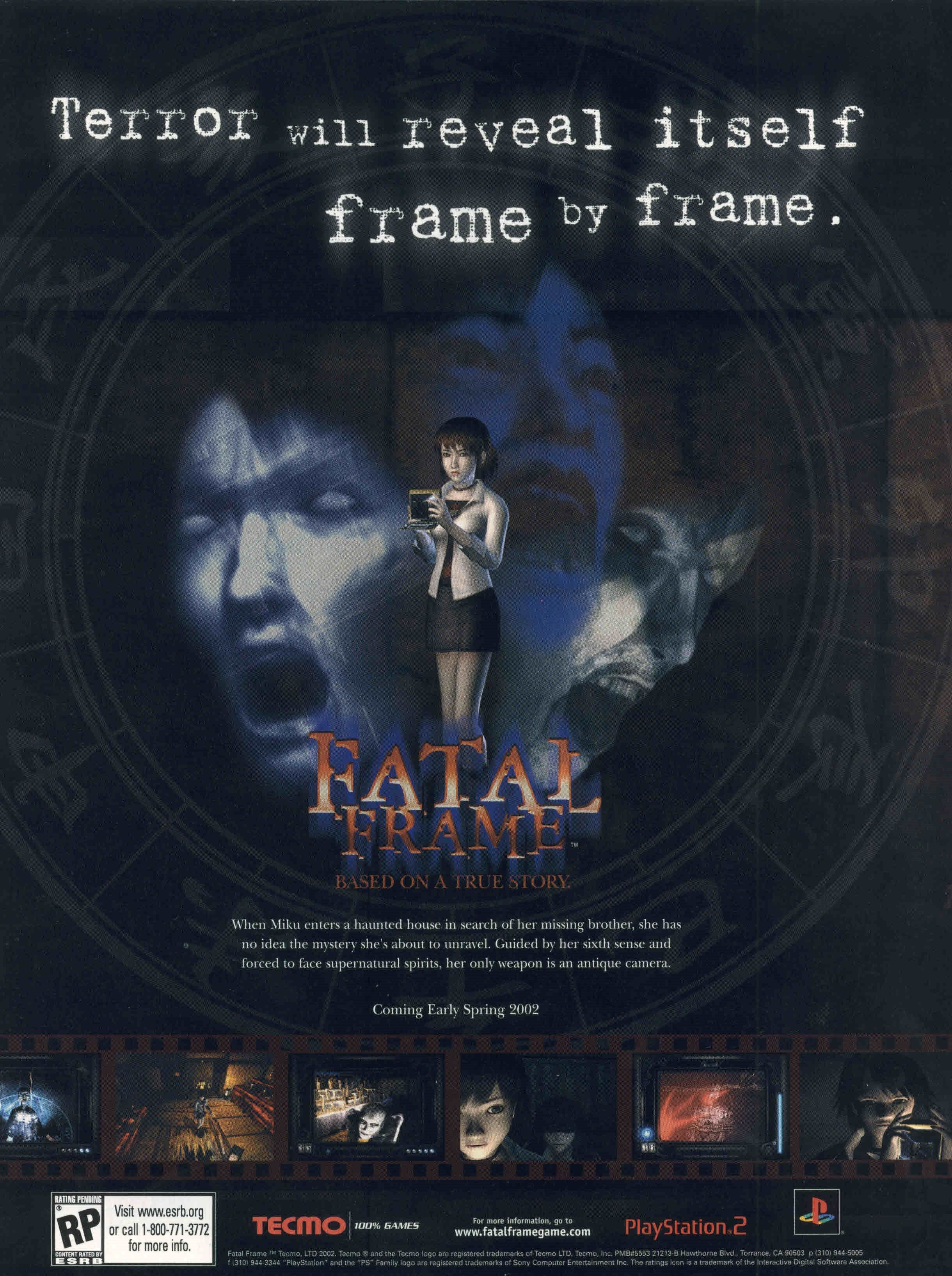 Fatal Frame | Computer Ads | Pinterest | Fatal frame and Playstation ...