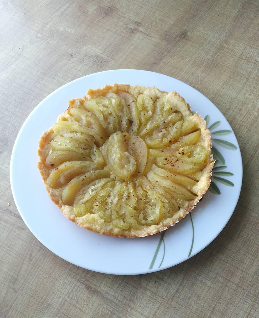 Endlich habe ich meinen digitalen Reiskocher von @reishunger mal für etwas anderes benutzt als für Reis 😄 Heute kam ein Apfelkuchen raus aus den guten garteneigenen Äpfeln 😊🍎