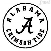 alabama crimson tide stencil air brush patterns pinterest rh pinterest com Alabama Logo Clip Art Alabama Crimson Tide Logo