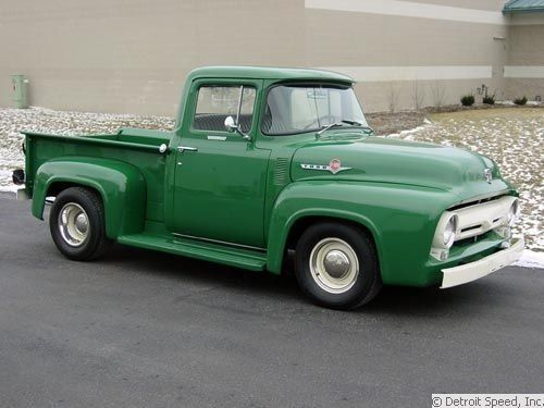 Tim Allen S 56 Ford F100 Classic Cars Trucks 1956 Ford Truck