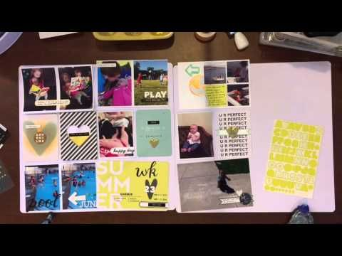 Project life// week 23/2015- process video