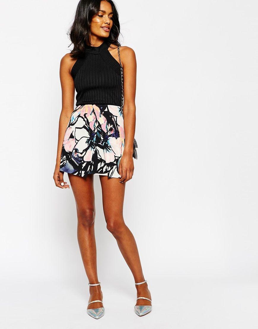 Floral Mini Skirts | Jill Dress