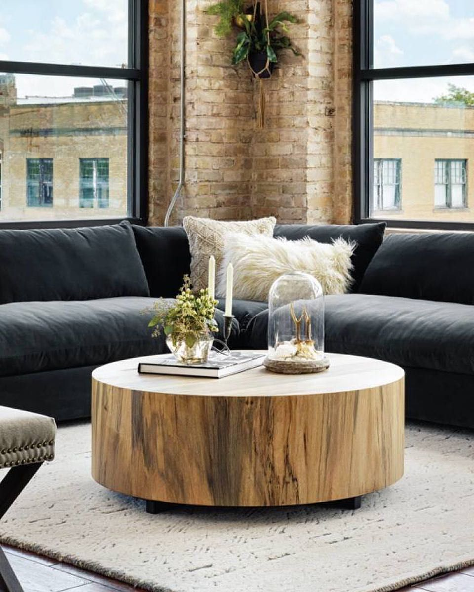 This Is Your Reminder Black Friday Sales Have Started Your Home Is Going To Thank Yo Coffee Table Round Coffee Table Living Room Dwell Magazine Living Room [ 1200 x 960 Pixel ]