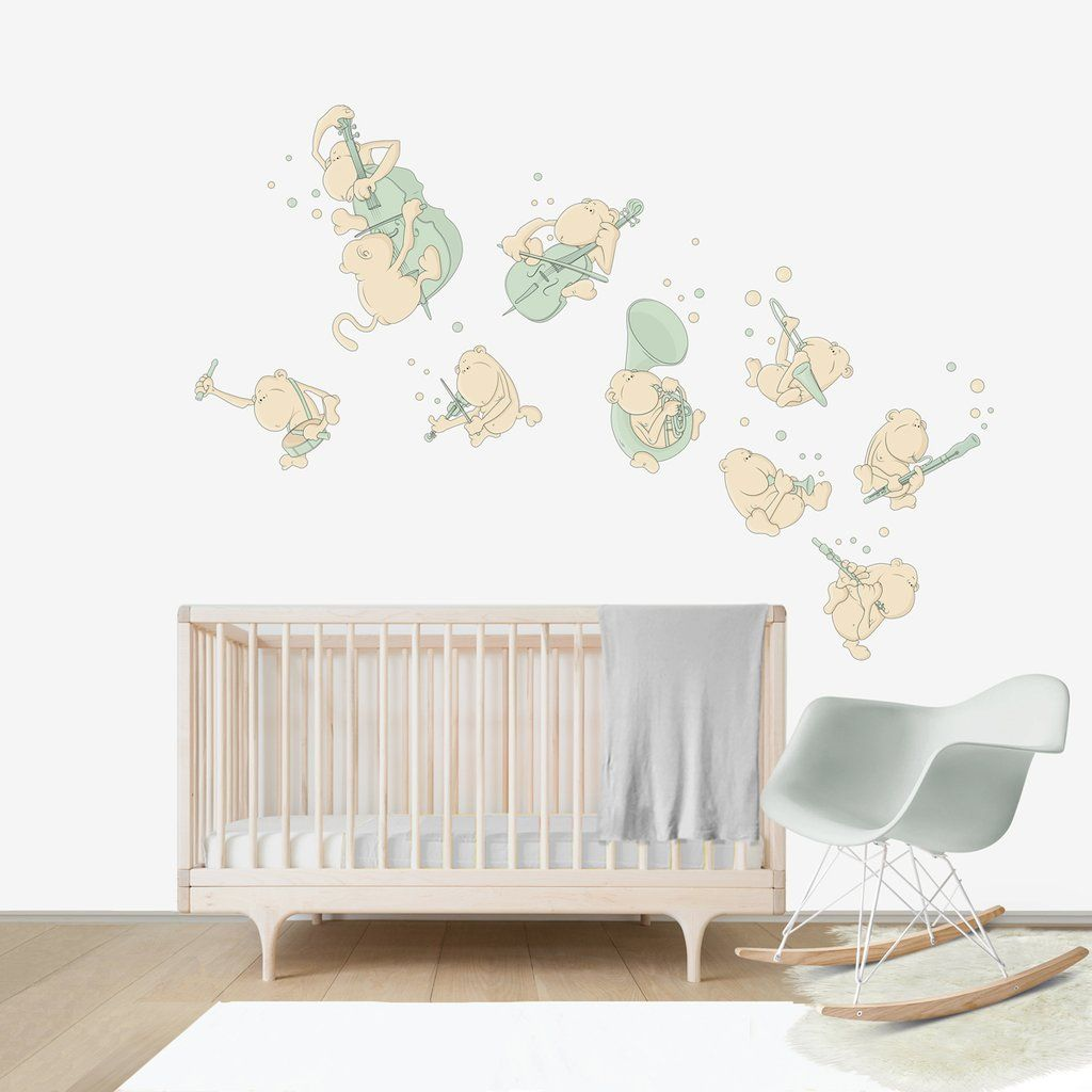 How To Decorate A Gender Neutral Nursery Green Baby Nurseries