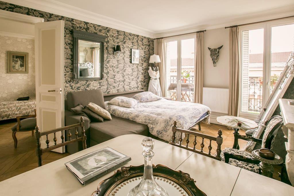Superb flat 3 rooms, great location - Apartments for Rent in Paris, Île-de-France, France