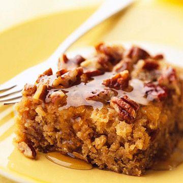 Honey Glazed Buttermilk Oatmeal Coffee Cake Coffee Cake Recipes Coffee Cake Desserts