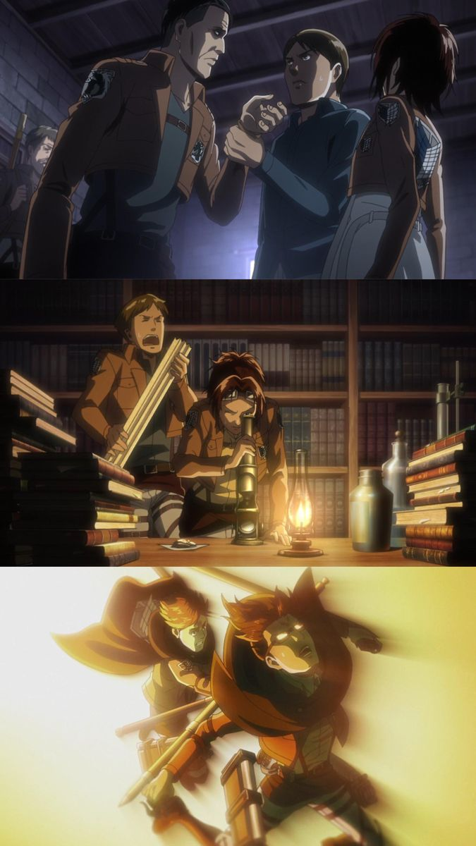 MOBLIT BERNER x HANJI ZOE in 2021   Attack on titan anime, Titans anime, Attack on titan